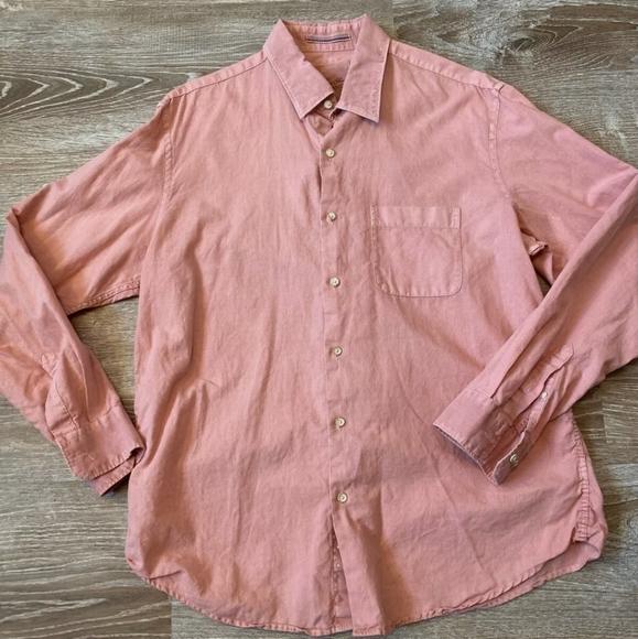 Tasso Elba Island Linen Shirt